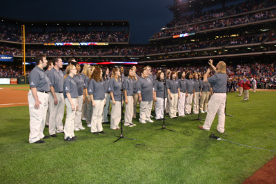Choir at Phillies